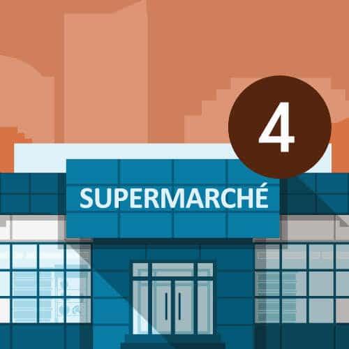 Hypermarché, Supermarché et magasins spécialisés