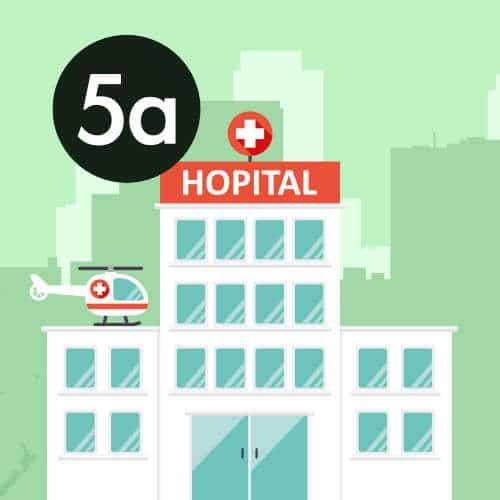 Dans les hôpitaux